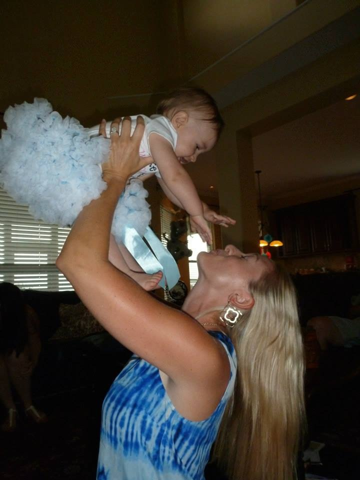 Chelsea Vail with Neice