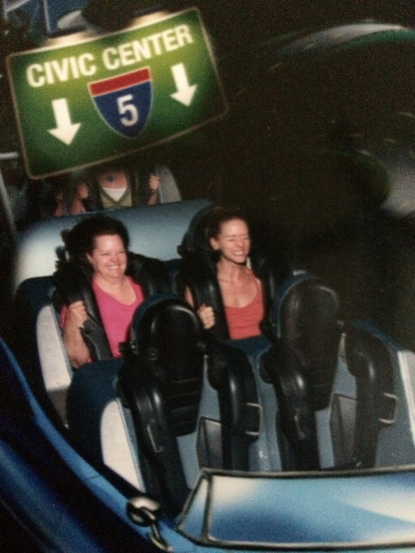Rollercoaster with mom